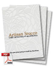 Artisan Stucco Mortars Brochure