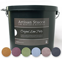 Original Lime Putty - Oxide Kleuren