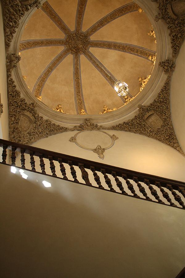 Fresco stucwerk - Trappenhuis paleis